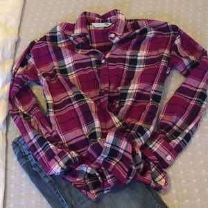 Old Navy flannel button up